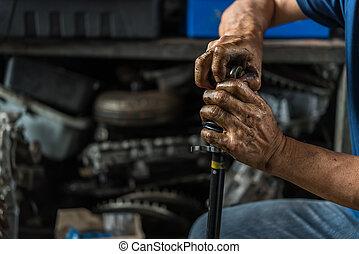 kontrola, naprawa garaż, zawieszenie, wóz