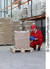 kontroll, specifikation, arbetare