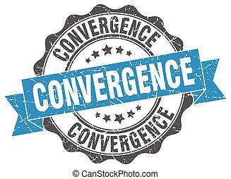 konvergencia, stamp., cégtábla., fóka
