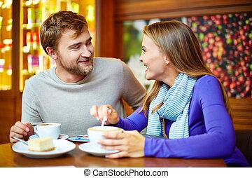 konversation, teatime