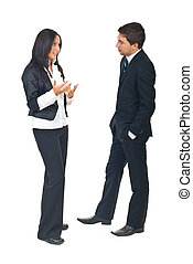 konverzace, business národ