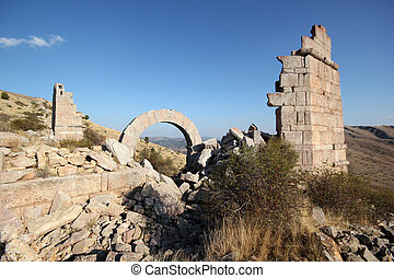konya, peru, ruínas antigas
