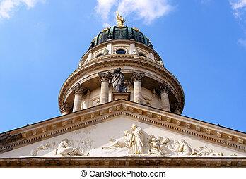 Konzerthaus hall, domme detail, Gendarmenmarkt square