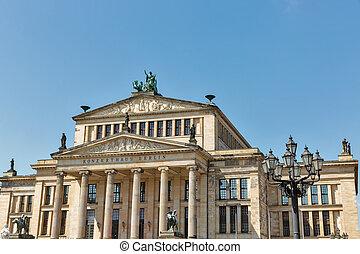 Konzerthaus on Gendarmenmarkt square in Berlin downtown, Germany.