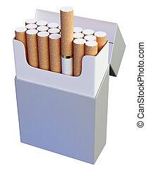 konzervál, cigaretta