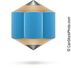 konzervativní, šestiúhelníkový, kreslit