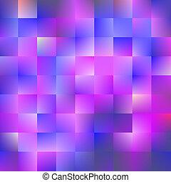 konzervativní, a, fialový, grafické pozadí, s, čtverhran