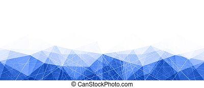 konzervativní, abstraktní, pattern., neposkvrněný, prapor, geometrický