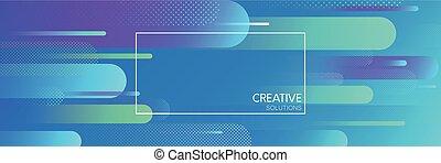 konzervativní, pattern., tvořivý, roztoci, geometrický standarta