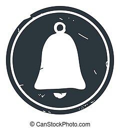 konzervativní, zvon, ilustrace, vektor, grafické pozadí, ikona