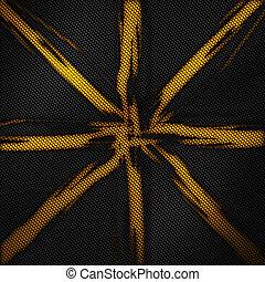koolstof, moderne, pattern., vezel