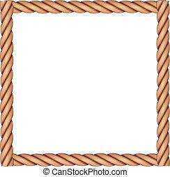 koord, frame, gemaakt
