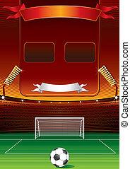 kopaná, scoreboard