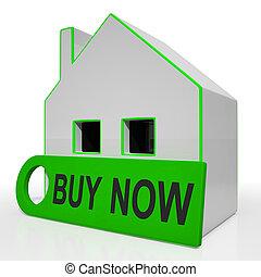 kopen, aanbod, woning, maken, uitdrukken, belangstelling, middelen, nu, of