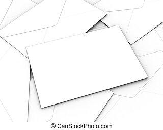 koperty, handlowy, biały