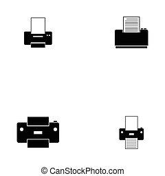 kopie, dát, ikona