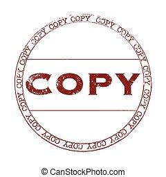 kopie, postzegel