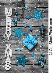 kopott, szöveg, -, whi, köszönés, sikk, díszes, karácsonyi üdvözlőlap