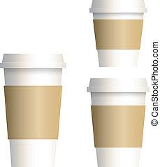kopp, kaffe