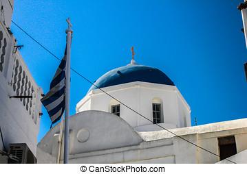kopuła, od, grecka cerkiew, kościół
