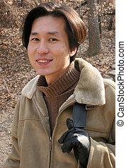 koreański człowiek