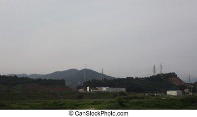 Korea - Bahnfahrt