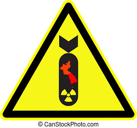 korea nuclear bomb warning