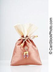 korea.bokjumeoni, szczęśliwy, dodatkowy, tradycyjny, torba,...