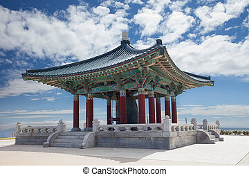 Korean Bell of Friendship pagoda