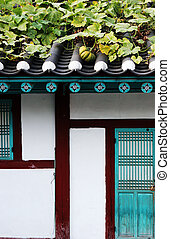 Korean building.
