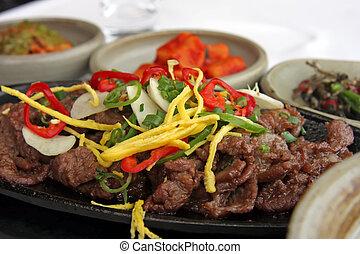 Korean bulgogi - Beef bulgogi traditional korean barbecued...
