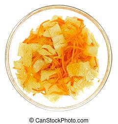 Korean carrot