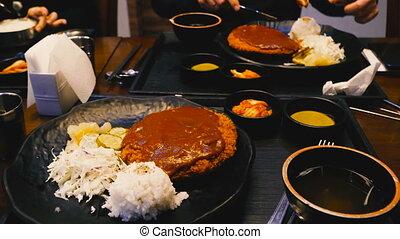 Korean food. Food south korea