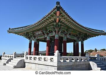 Korean Friendship Bell in San Pedro, California