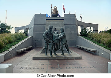 korean háború memorial