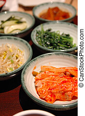 Korean side dishes - Korean barbecue dinner side dishes - ...