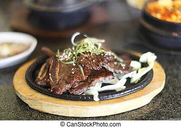 Korean spare ribs