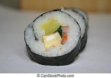 sushi - korean sushi or gimbap
