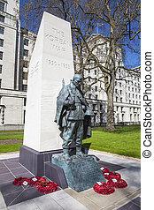 Korean War Memorial in London