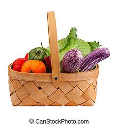 korg, grönsaken