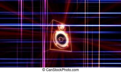 korkociąg, dźwiękowy, mówiący, puls