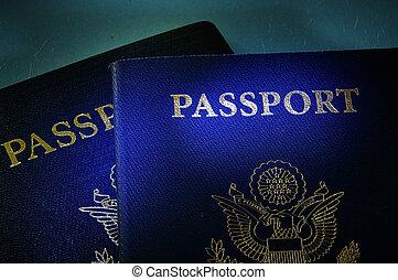 kormány, útlevél
