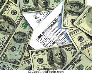 kormány, adót kiszab, pénz