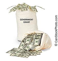 kormány, adományozás