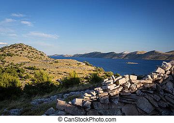 Kornati national park Croatia