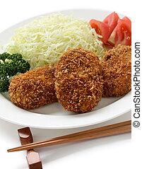 korokke, japanese croquette - japanese food