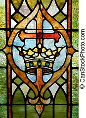 korona, krzyż