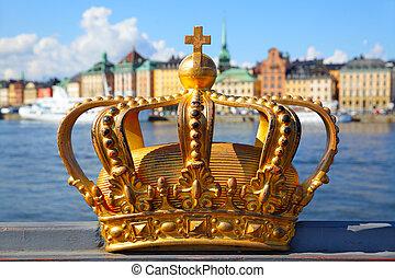 korona, sztokholm