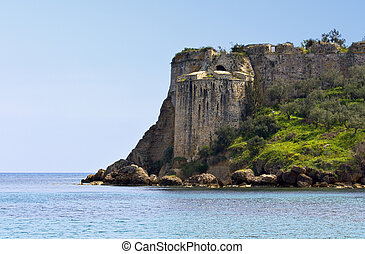 Koroni castle at Peloponnese, Greece