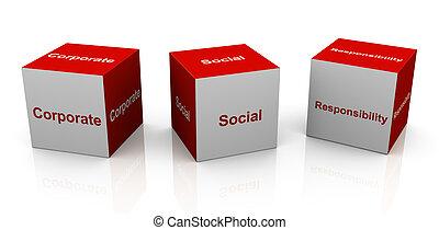 korporační, odpovědnost, společenský